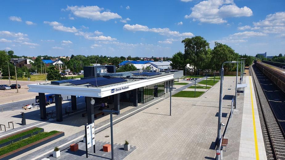 Dworzec PKP w Bielsku Podlaskim