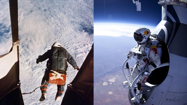 Swym skokiem ze stratosfery Felix Baumgartner pobił poprzedni rekord świata, który w 1960 r. ustanowił Amerykanin Joseph Kittinger. Były rekordzista skoczył z wysokości ponad 31 km, a maksymalna prędkość, jaką osiągnął wynosiła 988 km/h.