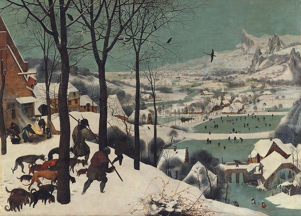 Myśliwi na śniegu, Pieter Brueghel the Elder, Public domain, via Wikimedia Commons
