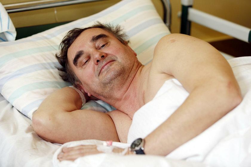 Operacja kręgozmyku w WSS nr 4 w Bytomiu