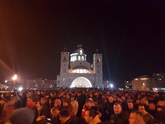 Protest u Podgorici