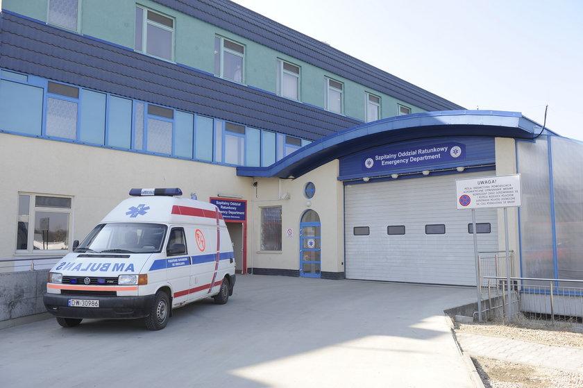 SOR szpitala przy Borowskiej we Wrocławiu