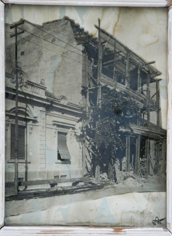 Zgrada u kojoj je bio dom porodice Baruh datira iz 19. veka
