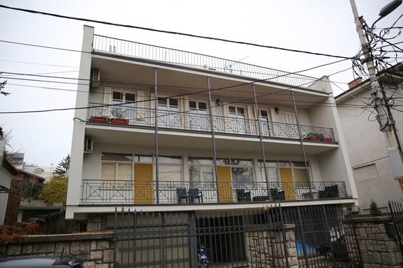 Intrenacionalnih brigada, Lalićev dom