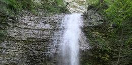 Wysoka kara za... wodospad!