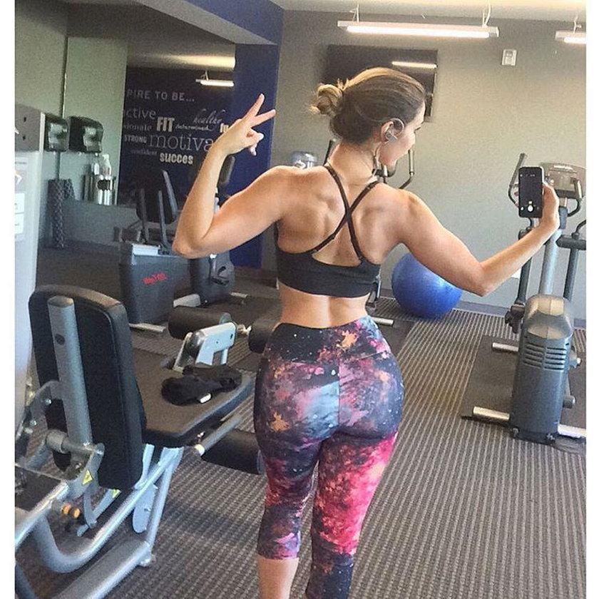 Ten wygląd to zasługa fitnessu