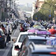 taksisti slavija protest 11. dan