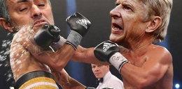 Internet śmieje się z szarpaniny Wengera i Mourinho. Najlepsze memy!