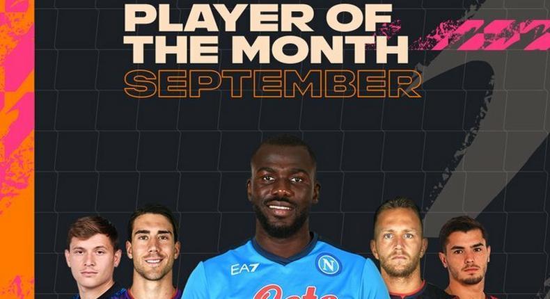 Player mois de septembre