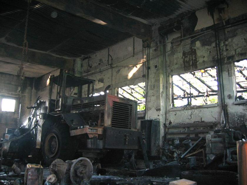 Czerwionka-Lszczyny. Pożar warsztatu samochodowego przy ul. Furgoła