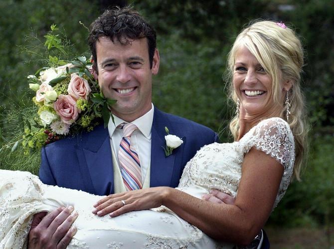 Urlika na dan venčanja sa suprugom