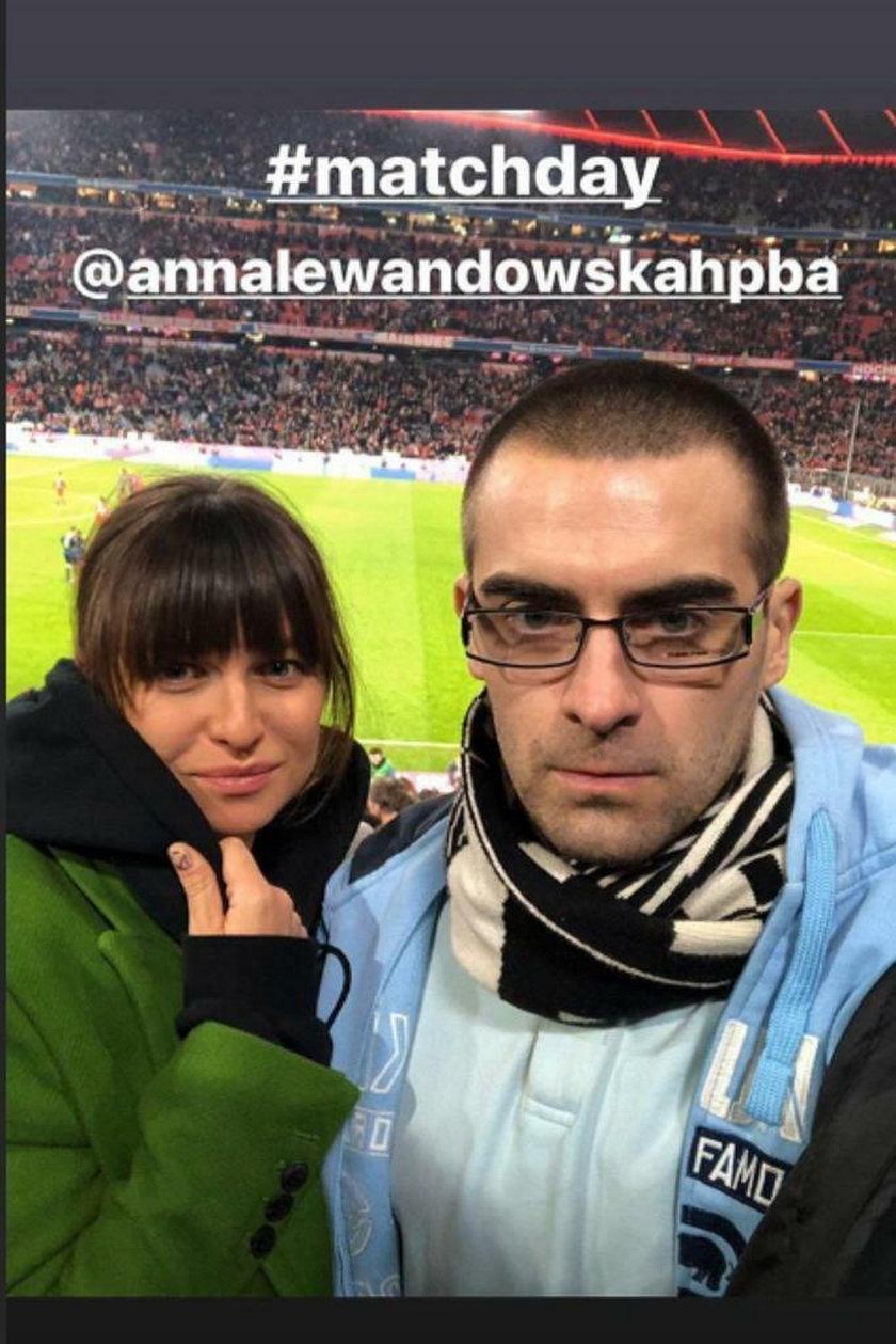 Quebonafide i Anna Lewandowska