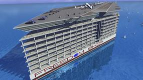 Freedom Ship – pływające miasto z własnym lotniskiem. To będzie największy statek w historii