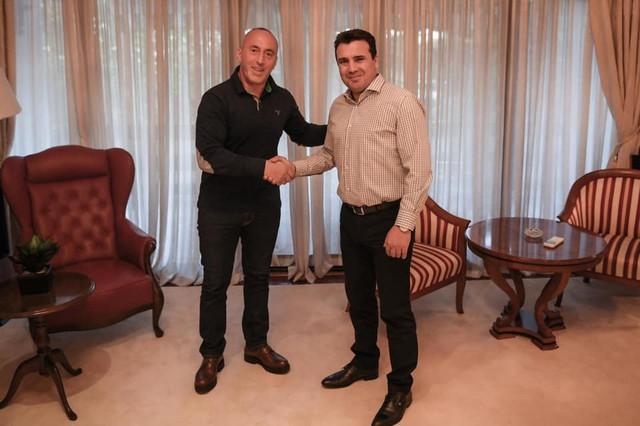 Ramuš Haradinaj i Zoran Zaev