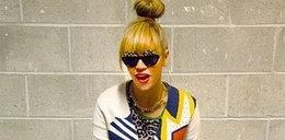 Beyonce w prostej grzywce