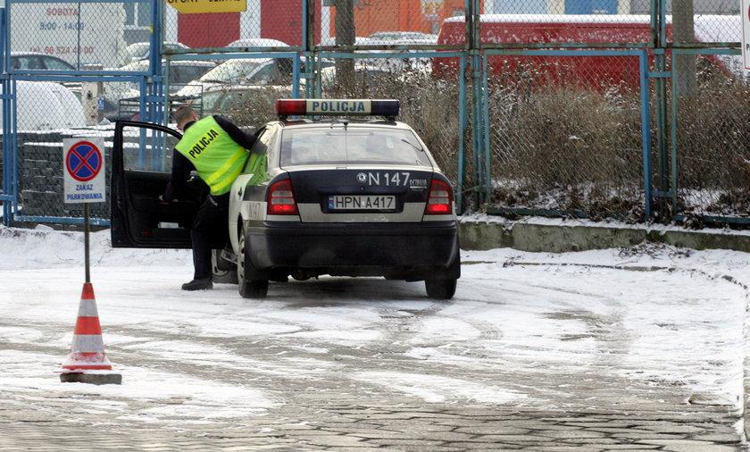 Policjant na zakazie