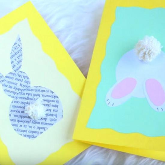 Kartki Na Wielkanoc Kartki świąteczne Na Wielkanoc Ręcznie Robione