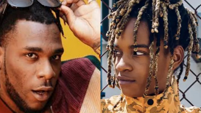 Burna Boy and Koffee record in the studio. (CrudeMusik)