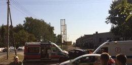 Wypadek w Wolsztynie