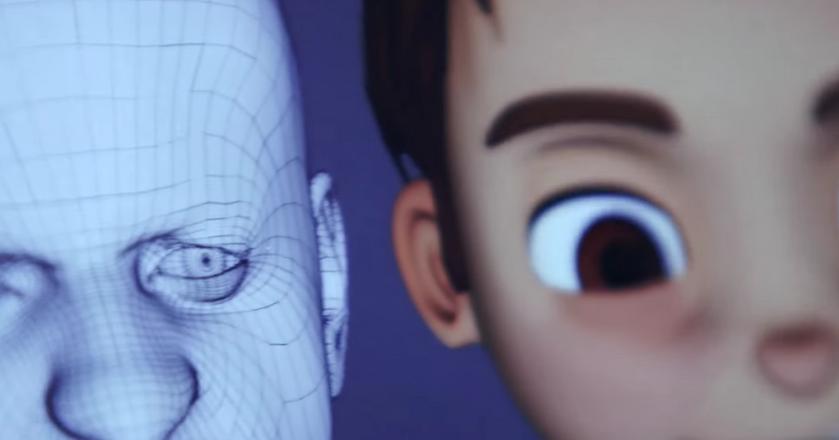 Demo technologii Faceshift, firmy zajmującej się modelowaniem 3D, którą Apple kupił w 2015 r.