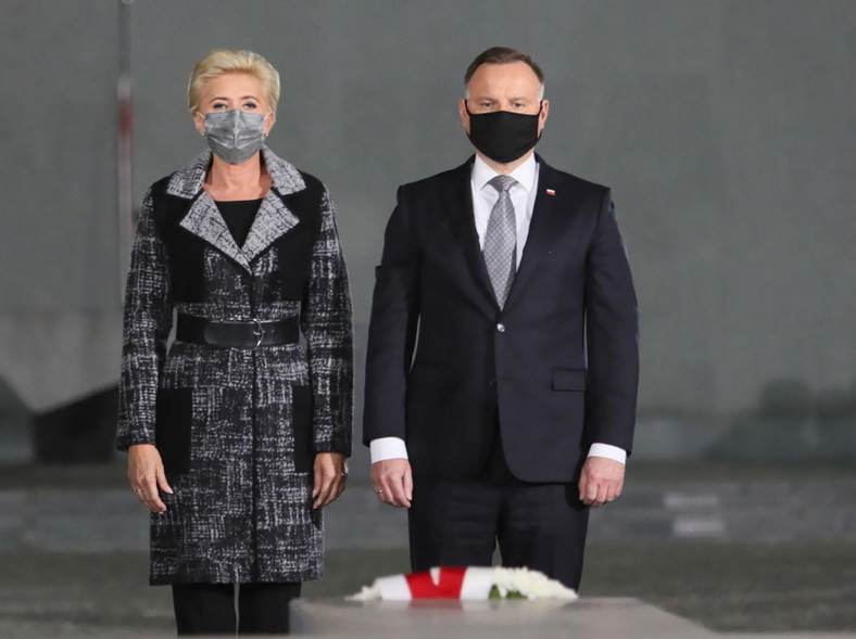 Agata Kornhauser-Duda Andrzej Duda