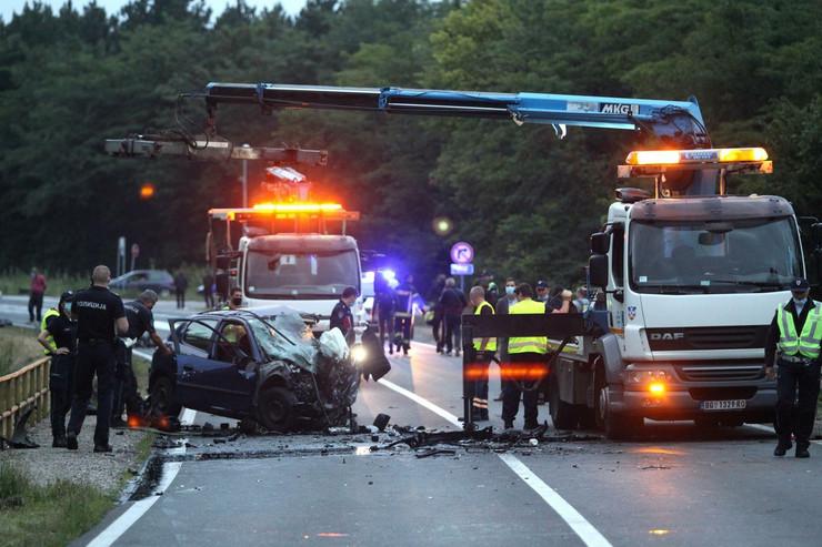 saobraćajna nesreća ibarska