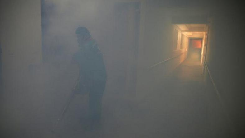 Singapore mass sprays residences as Zika expected to spread