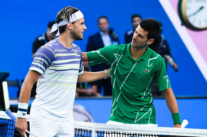 Novak i Dominik ukrstili su rekete u finalu Australijan Opena