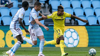 Nigerian Players Abroad: Samuel Chukwueze lifts Villarreal, Chidozie Awaziem's slip cost Leganés while Victor Moses misses out on Coppa Italia final