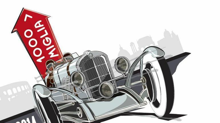 Słynny wyścig Mille Miglia 2014 bez Polaków
