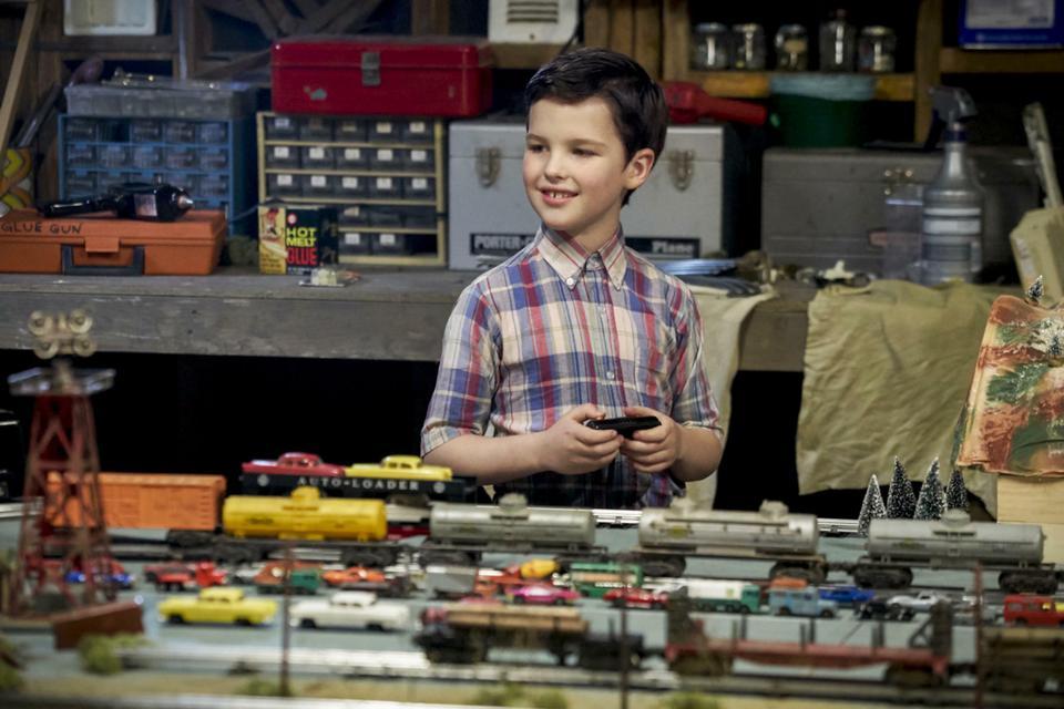 """""""Young Sheldon"""": kadr z serialu"""
