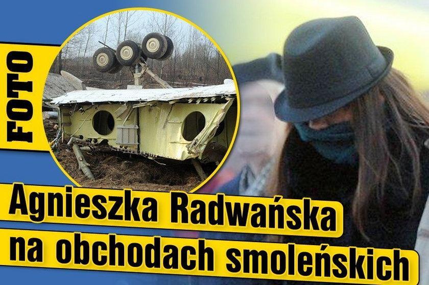Radwańska na obchodach smoleńskich. FOTO
