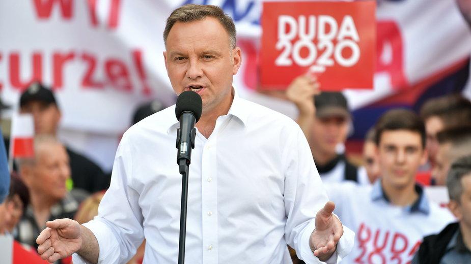 Andrzej Duda w Bolesławcu