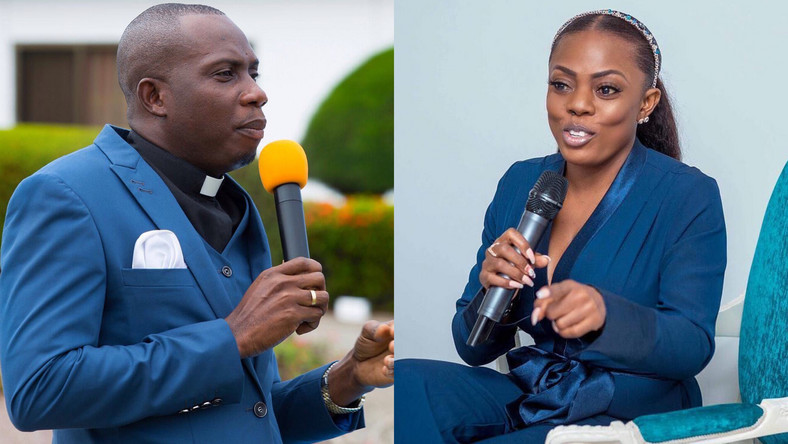 Counsellor Lutterodt and Nana Aba Anamoah