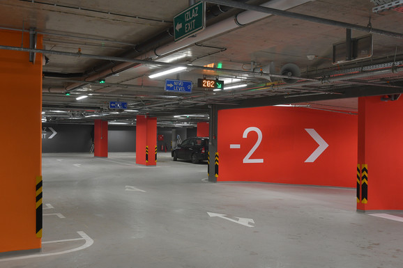 Novih 1.800 mesta u garažama
