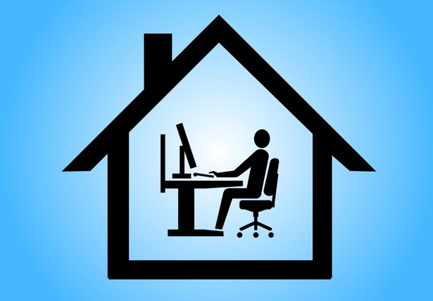 Home office, telepraca, praca z domu