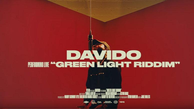 Davido performs 'Intro' to 'A Good Time' and 'Green Light Riddim' on Vevo CTRL. (YouTube/Davido)