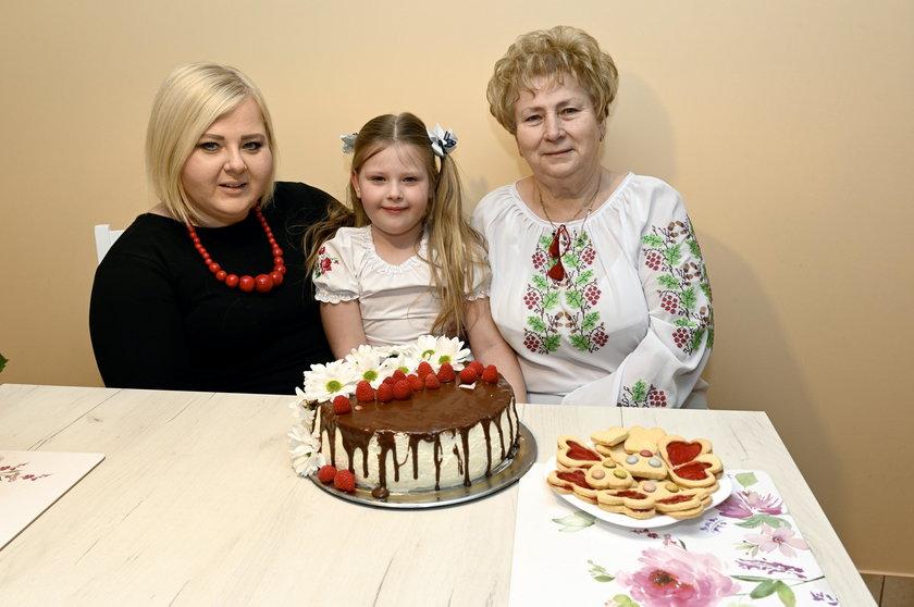 3 pokolenia świętują Dzień Babci