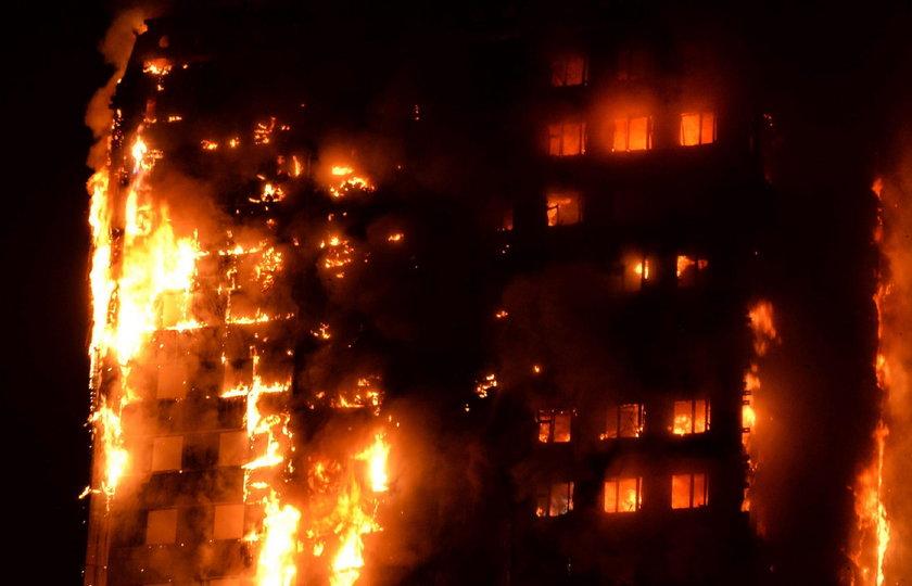 Londyńczycy zdruzgotani. Rośnie liczba ofiar pożaru w wieżowcu