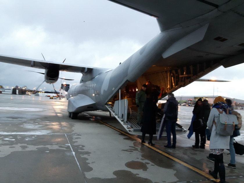 Chaos w trakcie lotu z Wielkiej Brytanii