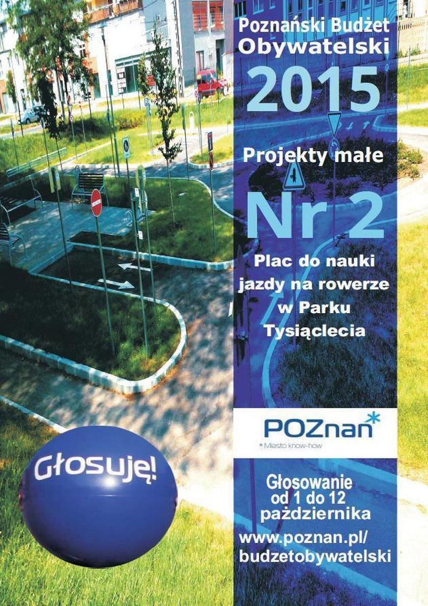 Małe projekty do budżetu obywatelskiego w Poznaniu – część 1
