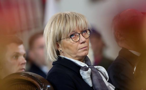 """Przyłębska powiedziała, że Pszczółkowski """"utożsamia się z apelem, oświadczeniem pozostałych sędziów, w związku z tym podpisał się"""""""