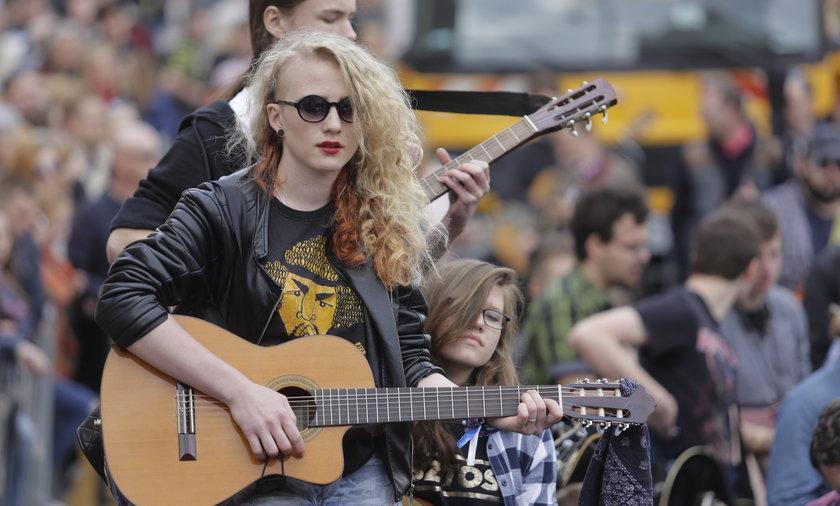 Gitarowy Rekord Guinnessa 2016 we Wrocławiu
