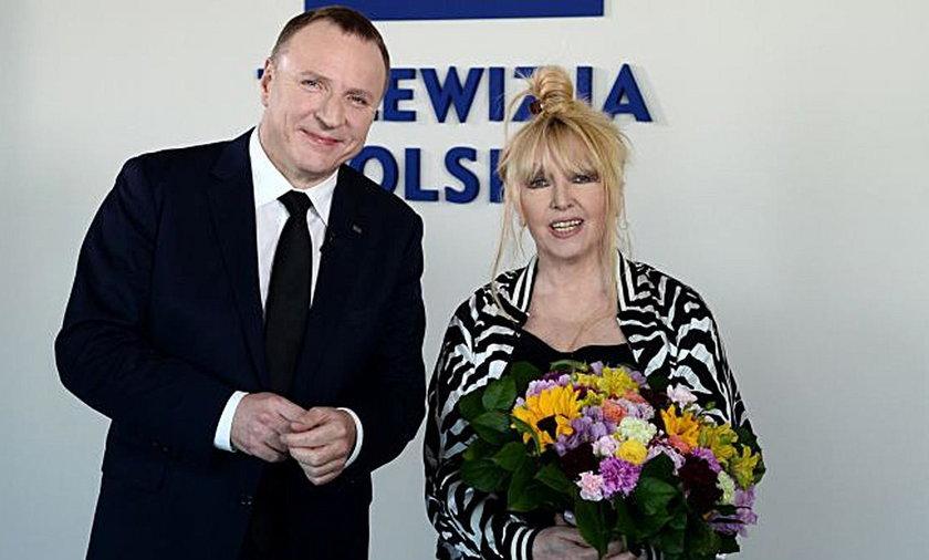 Maryla Rodowicz i Jacek Kurski