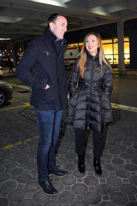 Sergej Ćetković i Aleksandra Radović