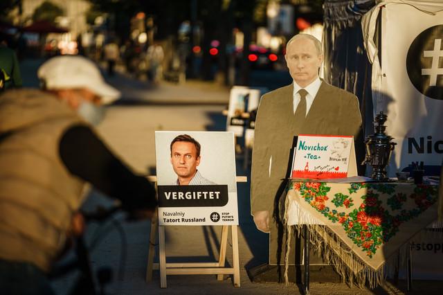 Protest u Berlinu zbog trovanja Navaljnija