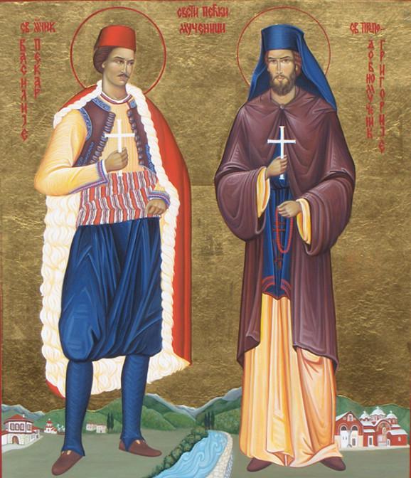 Sveti Grigorije i Vasilije Pećki