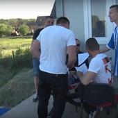 Prva vakcinacija na srpskom stadionu! VAKCINISAO SE CEO KLUB, a onda su pristupili i navijači /VIDEO/