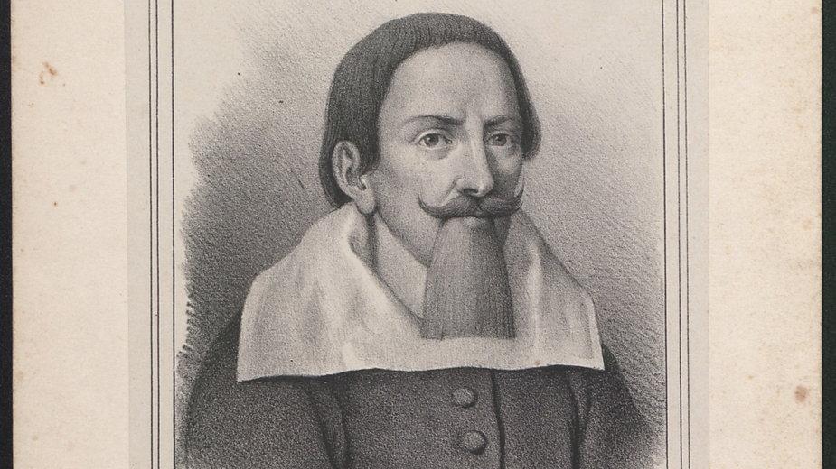 """Jan Feliks Piwarski, """"Portret Tomasza Dolabelli"""" (przed 1850), cynkografia, Warszawa, Biblioteka Narodowa"""