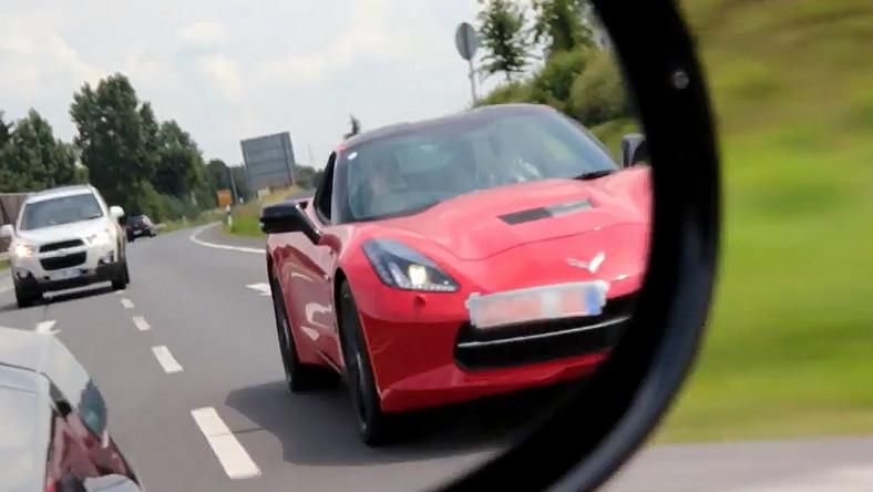 Chevrolet już testuje corvette stingray w Europie